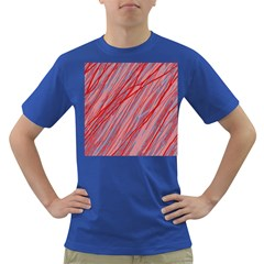 Pink and red decorative pattern Dark T-Shirt
