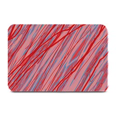 Pink and red decorative pattern Plate Mats