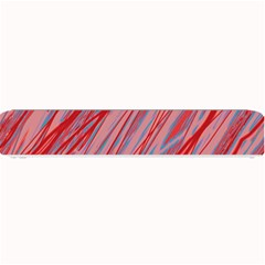 Pink and red decorative pattern Small Bar Mats