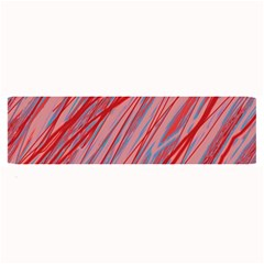 Pink and red decorative pattern Large Bar Mats