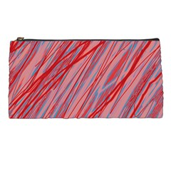 Pink and red decorative pattern Pencil Cases