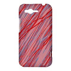 Pink and red decorative pattern HTC Rhyme