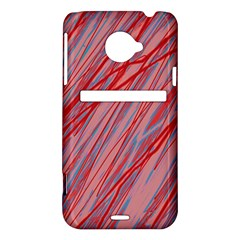 Pink and red decorative pattern HTC Evo 4G LTE Hardshell Case