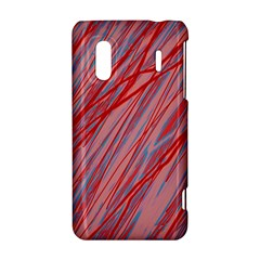 Pink and red decorative pattern HTC Evo Design 4G/ Hero S Hardshell Case