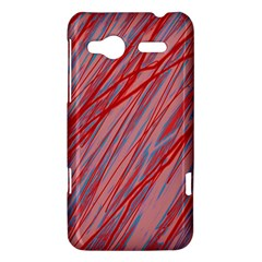 Pink and red decorative pattern HTC Radar Hardshell Case