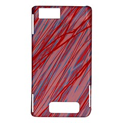 Pink and red decorative pattern Motorola DROID X2