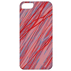Pink and red decorative pattern Apple iPhone 5 Classic Hardshell Case