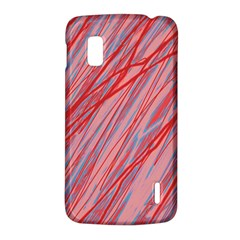 Pink and red decorative pattern LG Nexus 4