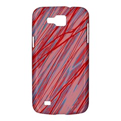 Pink and red decorative pattern Samsung Galaxy Premier I9260 Hardshell Case