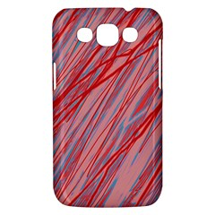 Pink and red decorative pattern Samsung Galaxy Win I8550 Hardshell Case
