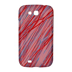 Pink and red decorative pattern Samsung Galaxy Grand GT-I9128 Hardshell Case