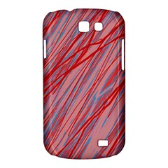 Pink and red decorative pattern Samsung Galaxy Express I8730 Hardshell Case