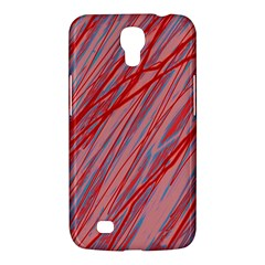 Pink and red decorative pattern Samsung Galaxy Mega 6.3  I9200 Hardshell Case