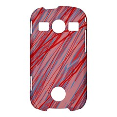 Pink and red decorative pattern Samsung Galaxy S7710 Xcover 2 Hardshell Case