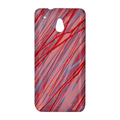 Pink and red decorative pattern HTC One Mini (601e) M4 Hardshell Case