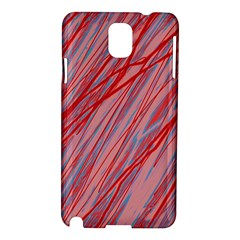 Pink and red decorative pattern Samsung Galaxy Note 3 N9005 Hardshell Case