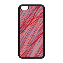 Pink and red decorative pattern Apple iPhone 5C Seamless Case (Black)