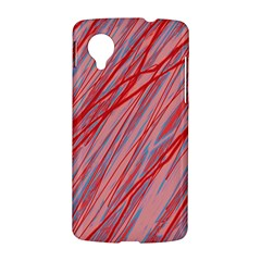 Pink and red decorative pattern LG Nexus 5