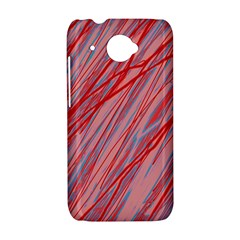 Pink and red decorative pattern HTC Desire 601 Hardshell Case