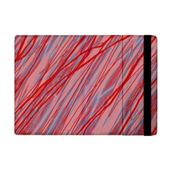Pink and red decorative pattern iPad Mini 2 Flip Cases