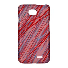 Pink and red decorative pattern LG Optimus L70