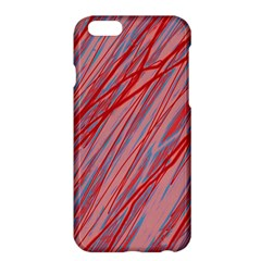 Pink and red decorative pattern Apple iPhone 6 Plus/6S Plus Hardshell Case