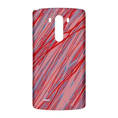 Pink and red decorative pattern LG G3 Back Case