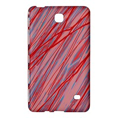 Pink and red decorative pattern Samsung Galaxy Tab 4 (7 ) Hardshell Case