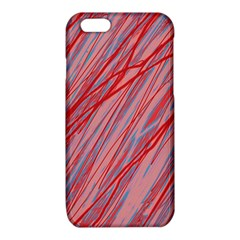 Pink and red decorative pattern iPhone 6/6S TPU Case