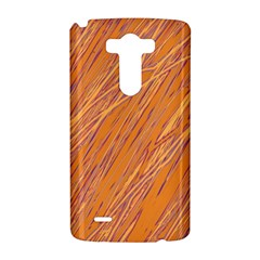 Orange pattern LG G3 Hardshell Case