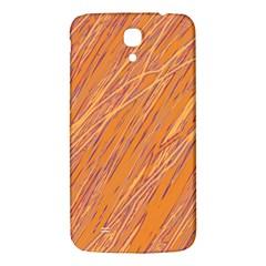 Orange pattern Samsung Galaxy Mega I9200 Hardshell Back Case