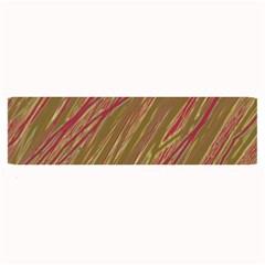 Brown elegant pattern Large Bar Mats