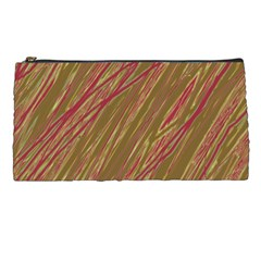 Brown elegant pattern Pencil Cases