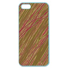 Brown elegant pattern Apple Seamless iPhone 5 Case (Color)
