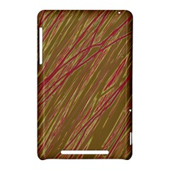 Brown elegant pattern Nexus 7 (2012)
