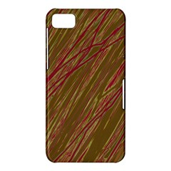 Brown elegant pattern BlackBerry Z10