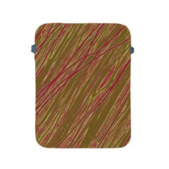 Brown elegant pattern Apple iPad 2/3/4 Protective Soft Cases