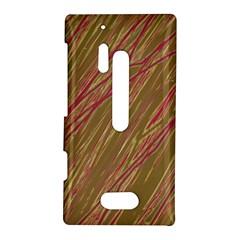 Brown elegant pattern Nokia Lumia 928