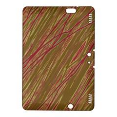Brown elegant pattern Kindle Fire HDX 8.9  Hardshell Case