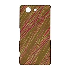 Brown elegant pattern Sony Xperia Z3 Compact