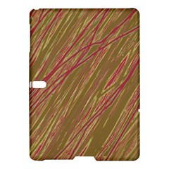 Brown elegant pattern Samsung Galaxy Tab S (10.5 ) Hardshell Case