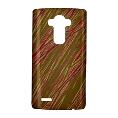 Brown elegant pattern LG G4 Hardshell Case