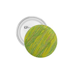 Green and yellow Van Gogh pattern 1.75  Buttons