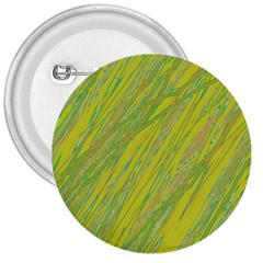 Green and yellow Van Gogh pattern 3  Buttons
