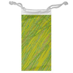 Green and yellow Van Gogh pattern Jewelry Bags