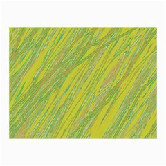 Green and yellow Van Gogh pattern Collage Prints