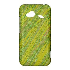 Green and yellow Van Gogh pattern HTC Droid Incredible 4G LTE Hardshell Case