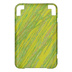 Green and yellow Van Gogh pattern Kindle 3 Keyboard 3G