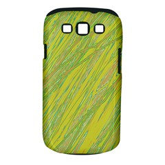 Green and yellow Van Gogh pattern Samsung Galaxy S III Classic Hardshell Case (PC+Silicone)