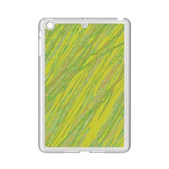 Green and yellow Van Gogh pattern iPad Mini 2 Enamel Coated Cases